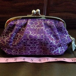 Authentic Vintage Coach wristlet